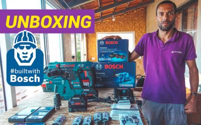 Bosch, aqui vamos nós! #builtwithBosch Unboxing